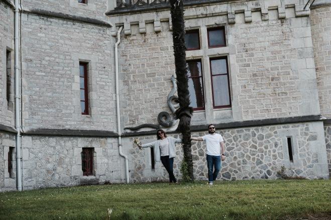 engagement flomarin couple chateau