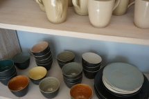 vaisselle poterie guethary